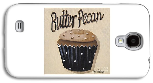 Catherine Galaxy S4 Cases - Butter Pecan Cupcake Galaxy S4 Case by Catherine Holman