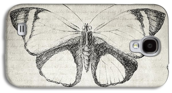 Butterfly Quote - The Little Prince Galaxy S4 Case by Taylan Soyturk