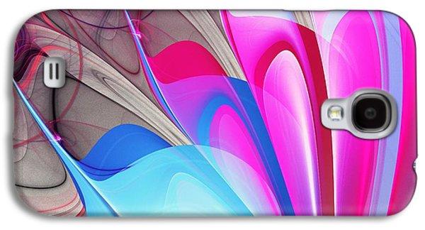 Butterfly Wing Pattern Galaxy S4 Case by Anastasiya Malakhova