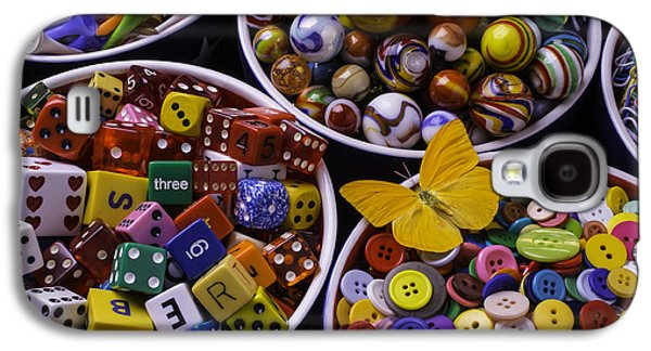 Butterfly With Bowls Galaxy S4 Case by Garry Gay