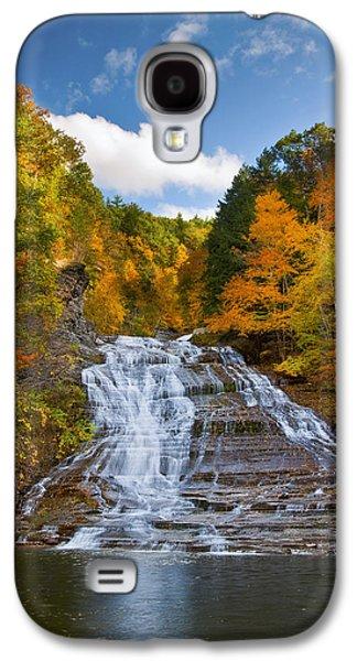 Buttermilk Falls 2 Galaxy S4 Case by Mark Papke
