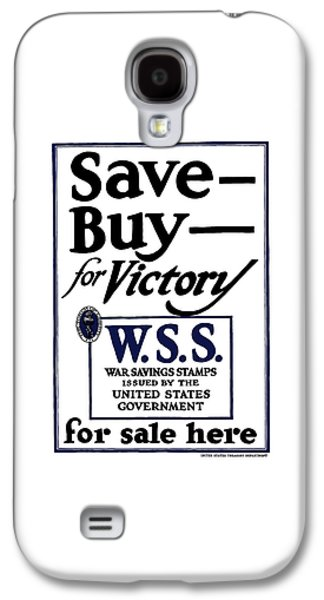 Saving Galaxy S4 Cases - Buy For Victory Galaxy S4 Case by War Is Hell Store