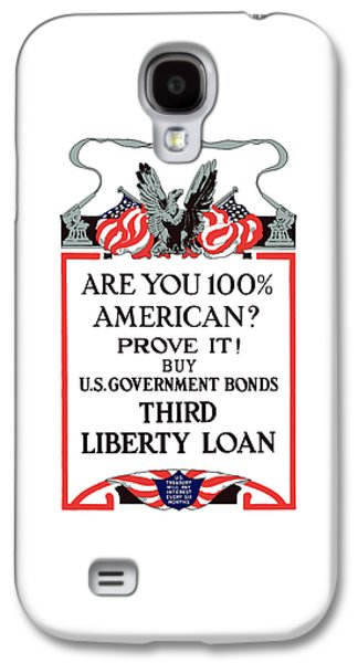 Liberty Galaxy S4 Cases - Buy U.S. Government Bonds Galaxy S4 Case by War Is Hell Store