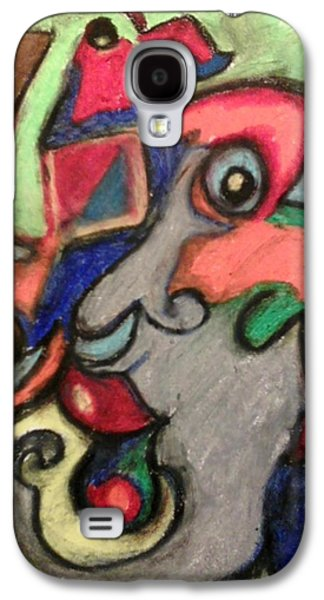 Industrial Pastels Galaxy S4 Cases - by Derrick Hayes Abstract Galaxy S4 Case by Derrick Hayes