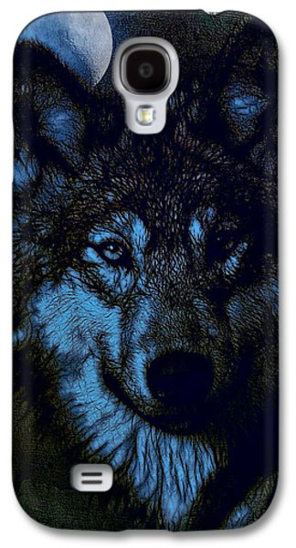 Photo Manipulation Drawings Galaxy S4 Cases - By the Light of the Moon - Tied for 2nd Place Galaxy S4 Case by EricaMaxine  Price