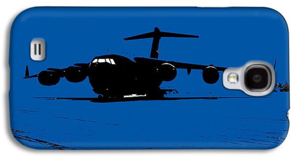 Iraq Prints Galaxy S4 Cases - C-17 Globemaster III Galaxy S4 Case by John Bainter