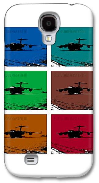 Iraq Prints Galaxy S4 Cases - C17 Globemaster III  Galaxy S4 Case by John Bainter