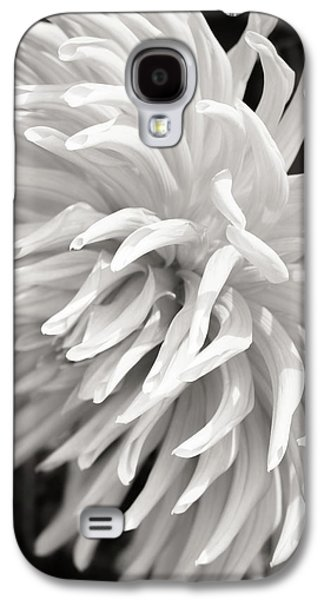 Nature Abstracts Galaxy S4 Cases - Cactus Dahlia Galaxy S4 Case by Wim Lanclus