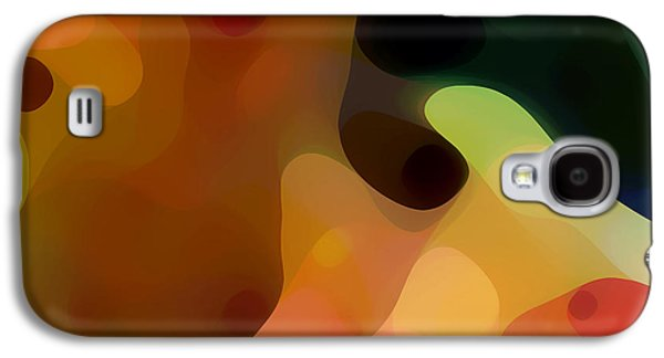 Abstract Movement Galaxy S4 Cases - Cactus Fruit Galaxy S4 Case by Amy Vangsgard