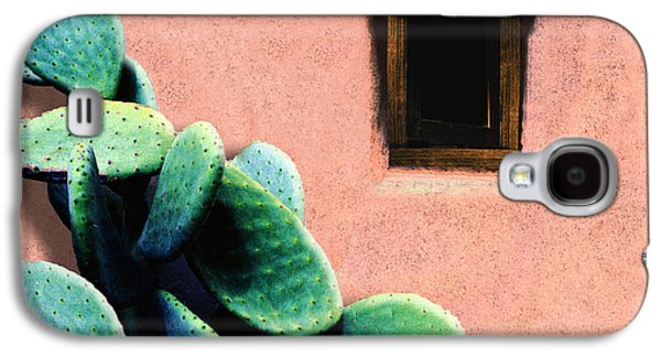 Abstract Digital Digital Galaxy S4 Cases - Cactus Galaxy S4 Case by Paul Wear