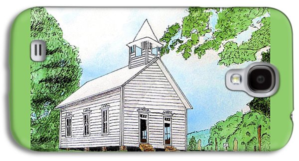Cades Cove Church Galaxy S4 Case by Lynn Ingram