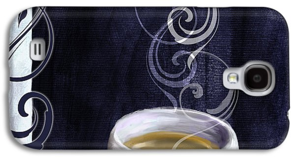 Cafe Blue Iv Galaxy S4 Case by Mindy Sommers