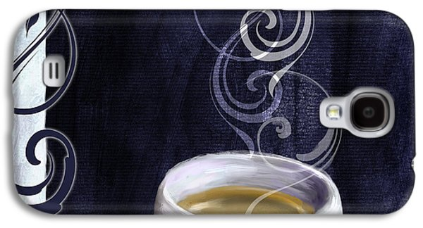 Espresso Galaxy S4 Cases - Cafe Blue IV Galaxy S4 Case by Mindy Sommers