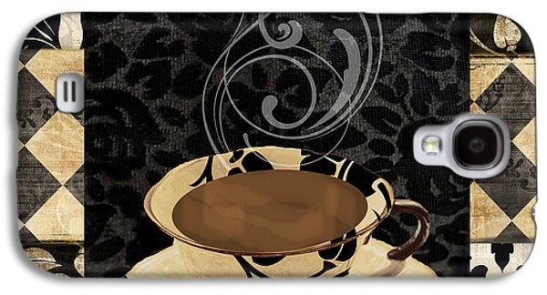 Cafe Noir IIi Galaxy S4 Case by Mindy Sommers