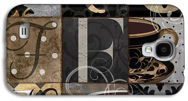 Cafe Noir Patchwork Galaxy S4 Case by Mindy Sommers