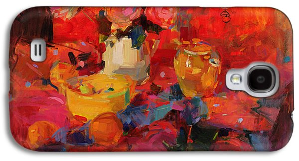 Tasteful Art Galaxy S4 Cases - Cafe Royal Galaxy S4 Case by Peter Graham