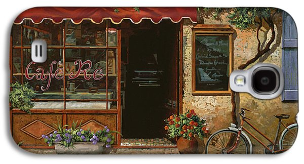 Cafe Galaxy S4 Cases - caffe Re Galaxy S4 Case by Guido Borelli
