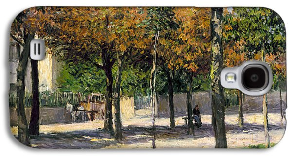 1880s Galaxy S4 Cases - Caillebotte: Argenteuil Galaxy S4 Case by Granger