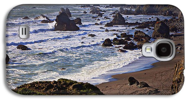 Western Photographs Galaxy S4 Cases - California coast Sonoma Galaxy S4 Case by Garry Gay