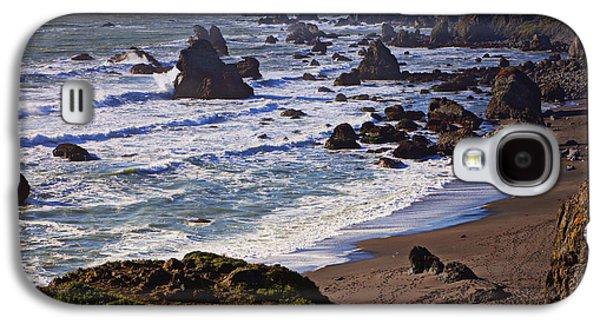 Western Photographs Galaxy S4 Cases - California coast Sonoma Galaxy S4 Case by Garry Gay