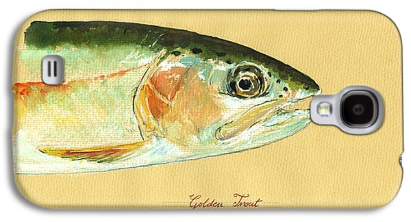 California Golden Trout Galaxy S4 Case by Juan  Bosco
