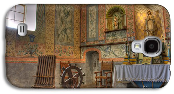 Landmarks Photographs Galaxy S4 Cases - California Missions La Purisima Alter Galaxy S4 Case by Bob Christopher