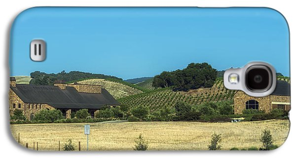 California Vineyard Galaxy S4 Cases - California Vineyard And Winery Galaxy S4 Case by Mountain Dreams