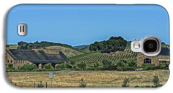 California Vineyard Galaxy S4 Cases - California Winery And Vineyard Galaxy S4 Case by Mountain Dreams