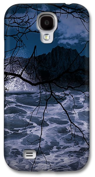 Evening Digital Galaxy S4 Cases - Caliginosity Galaxy S4 Case by Lourry Legarde