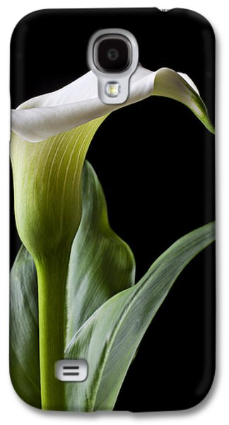 Calla Lily With Drip Galaxy S4 Case by Garry Gay