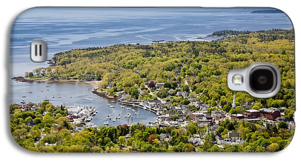 Mid-coast Maine Galaxy S4 Cases - Camden View Galaxy S4 Case by Susan Cole Kelly