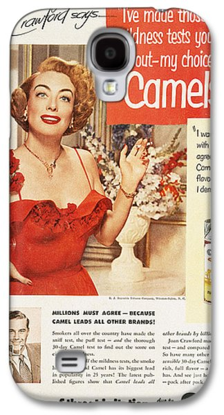 Camel Cigarette Ad, 1951 Galaxy S4 Case by Granger