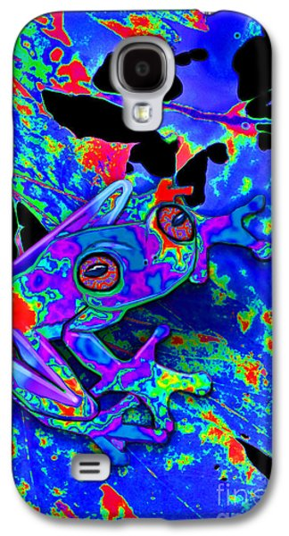 Camo Frog Galaxy S4 Case by Nick Gustafson