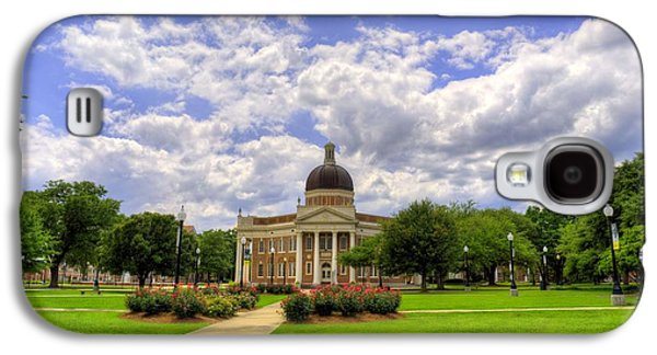 Hattiesburg Galaxy S4 Cases - Campus Life at Southern Miss Galaxy S4 Case by JC Findley