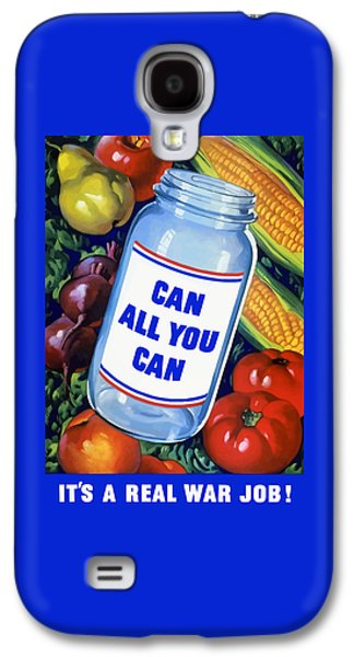 Political Mixed Media Galaxy S4 Cases - Can All You Can -- WW2 Galaxy S4 Case by War Is Hell Store
