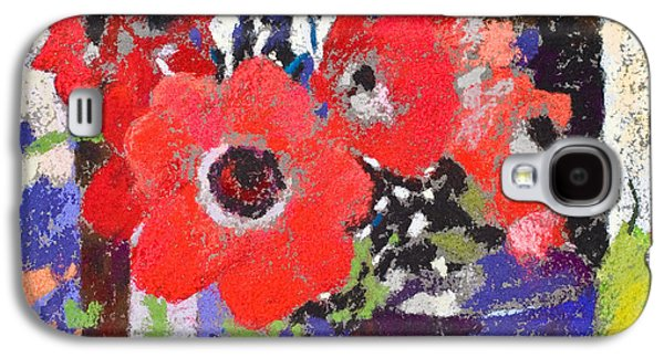 Still Life Pastels Galaxy S4 Cases - Candlemass Galaxy S4 Case by Simon Fletcher