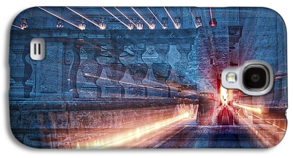 Religious Galaxy S4 Cases - Candles Outside the Church Galaxy S4 Case by Stuart Litoff