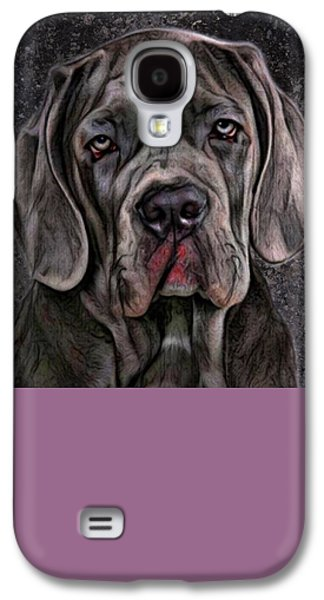 Puppies Digital Galaxy S4 Cases - Cane Corso Portrait Galaxy S4 Case by Scott Wallace