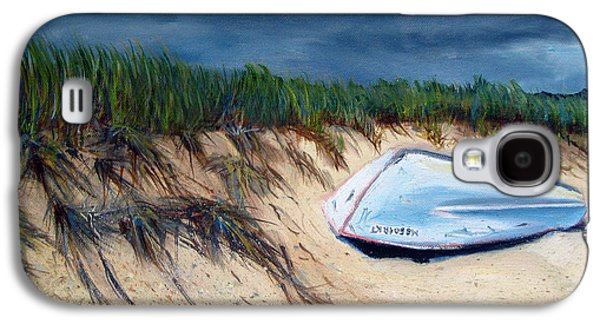 Cape Cod Paintings Galaxy S4 Cases - Cape Cod Boat Galaxy S4 Case by Paul Walsh