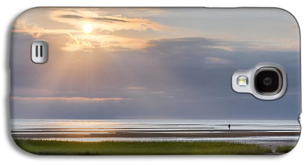 Sun Galaxy S4 Cases - Cape Cod First Encounter Beach Galaxy S4 Case by Bill Wakeley
