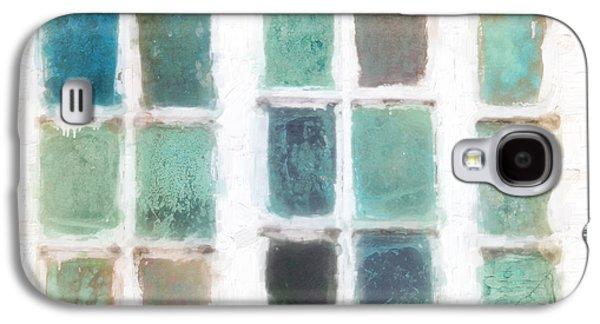 Buildings By The Sea Galaxy S4 Cases - Cape Cod Windows Galaxy S4 Case by Hal Halli