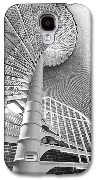 Staircase Galaxy S4 Cases - Cape May Lighthouse Stairs Galaxy S4 Case by Dustin K Ryan