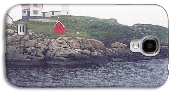 Cape Neddick Lighthouse Galaxy S4 Cases - Cape Neddick Lighthouse Galaxy S4 Case by Thomas R Fletcher