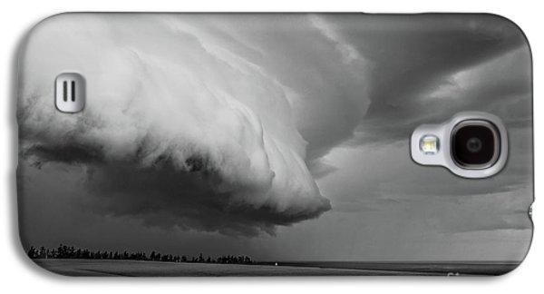 Cape Tyron Vortex Black And White Galaxy S4 Case by Edward Fielding