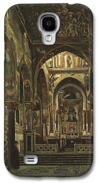 Cappella Palatina, Palermo  Galaxy S4 Case by Frederic Leighton