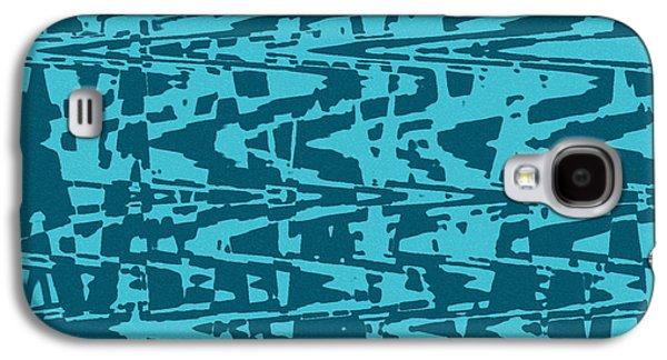 Digital Tapestries - Textiles Galaxy S4 Cases - Capri Galaxy S4 Case by FabricWorks Studio