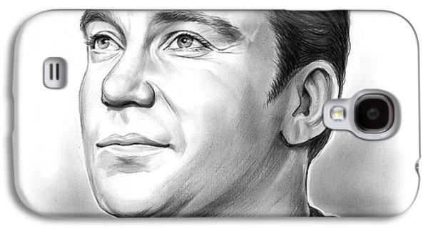 Capt. James T. Kirk Galaxy S4 Case by Greg Joens