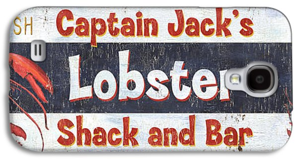 Captain Jack's Lobster Shack Galaxy S4 Case by Debbie DeWitt