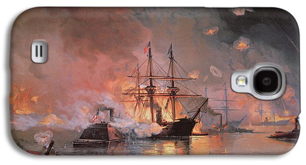 Capture Of New Orleans By Union Flag Officer David G Farragut Galaxy S4 Case by Julian Oliver Davidson