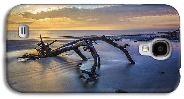 Sanddunes Galaxy S4 Cases - Captured Galaxy S4 Case by Debra and Dave Vanderlaan